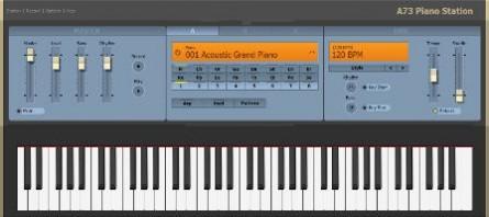نرمافزار پیانو کم حجم