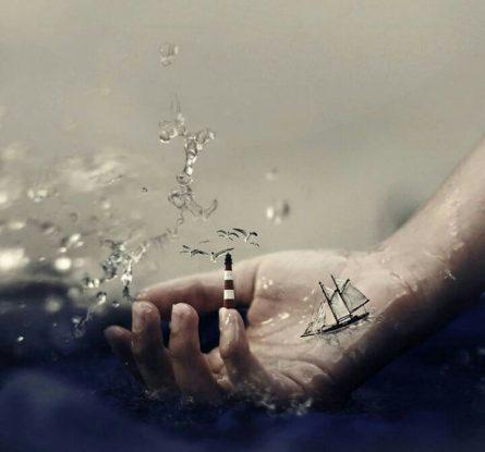 اقیانوسی در دستم