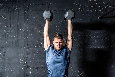 تمرین بدن سازی